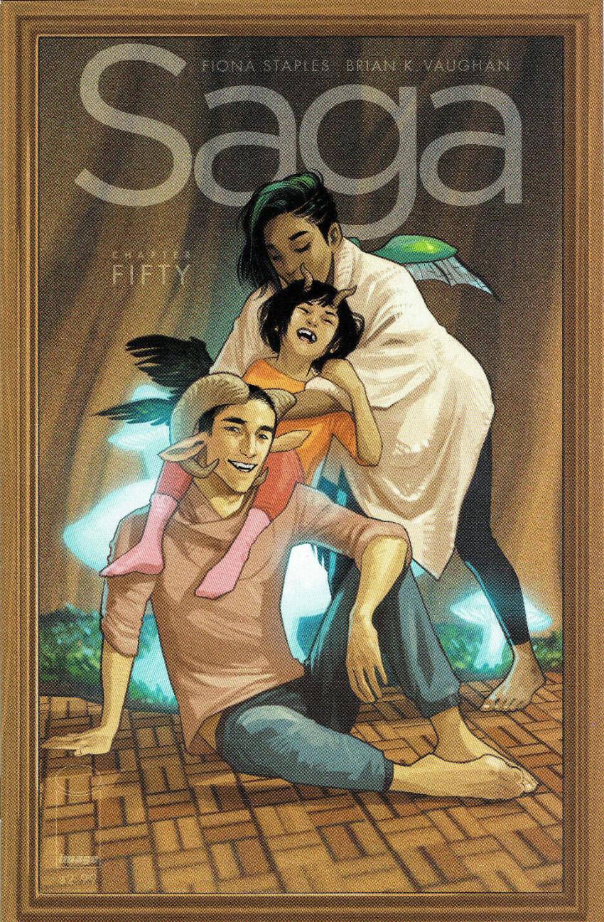 Couverture de Saga (Image comics - 2012) -50- Chapter fifty