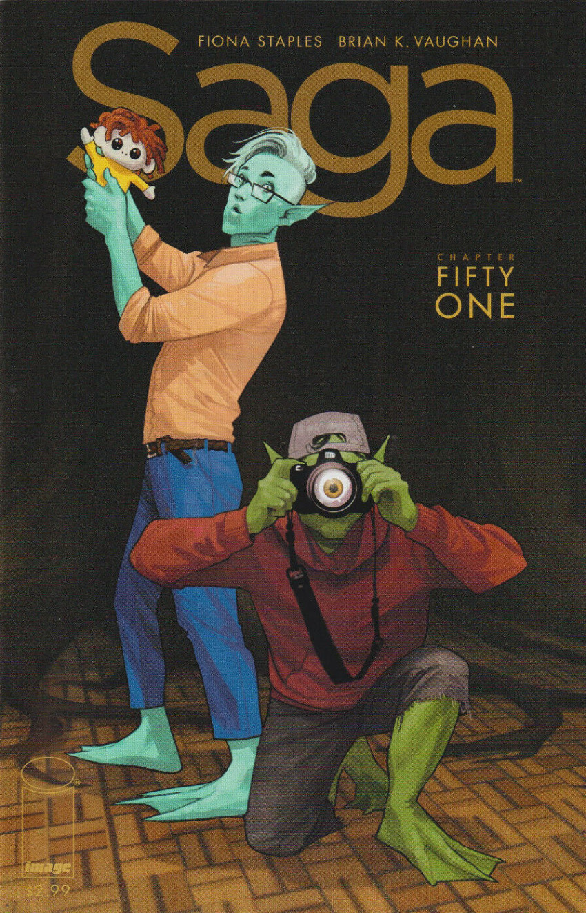 Couverture de Saga (Image comics - 2012) -51- Chapter fifty one
