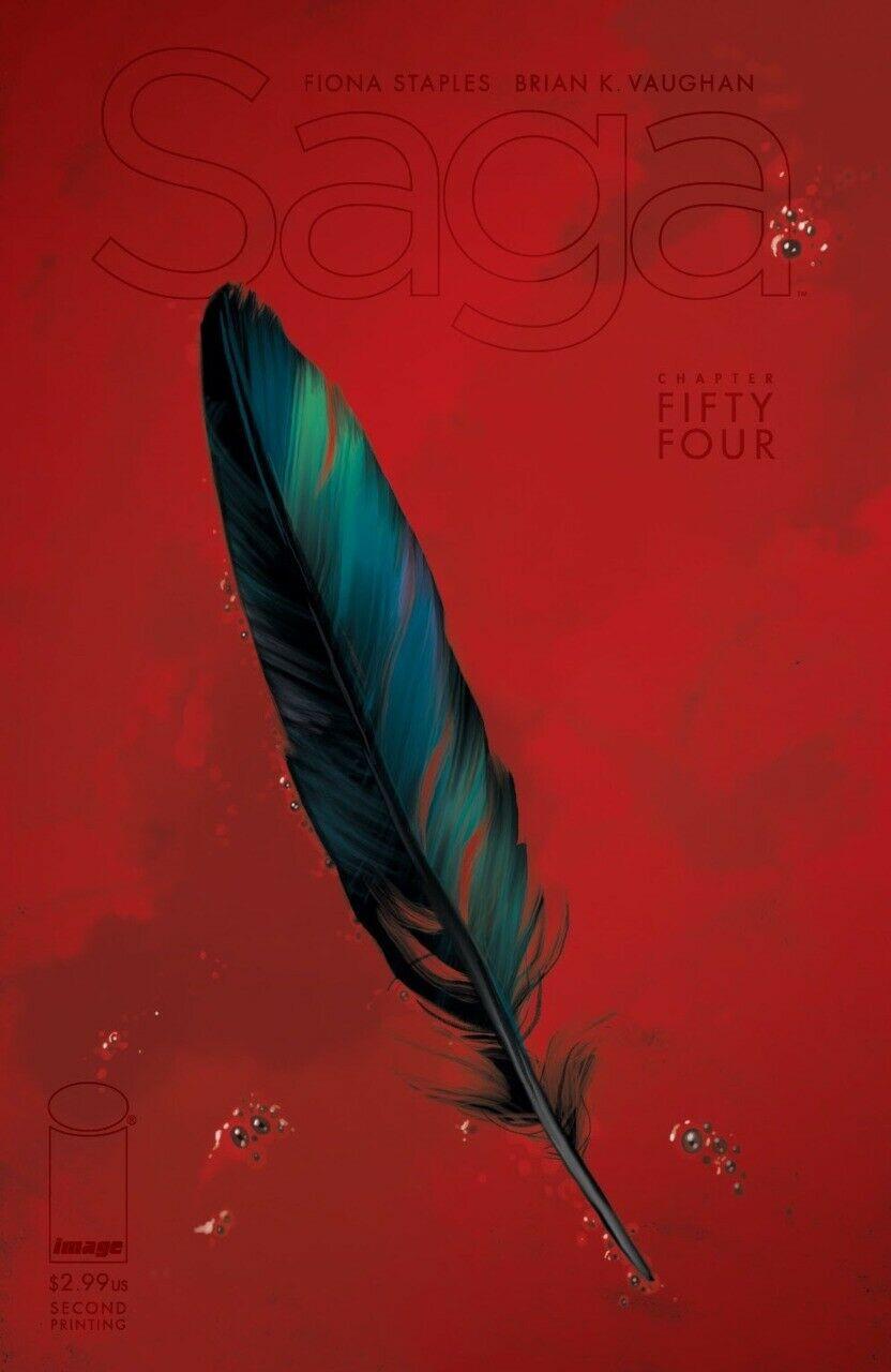 Couverture de Saga (Image comics - 2012) -54- Chapter fifty four