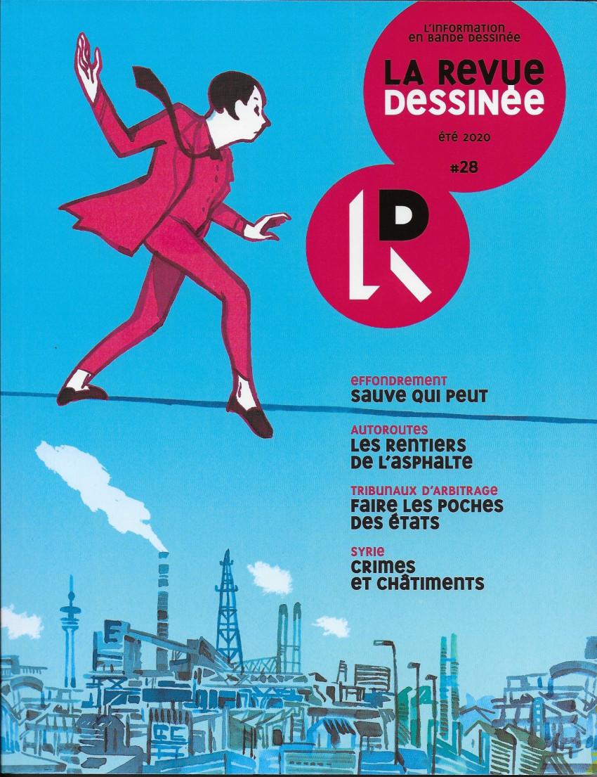 Couverture de La revue dessinée -28- #28