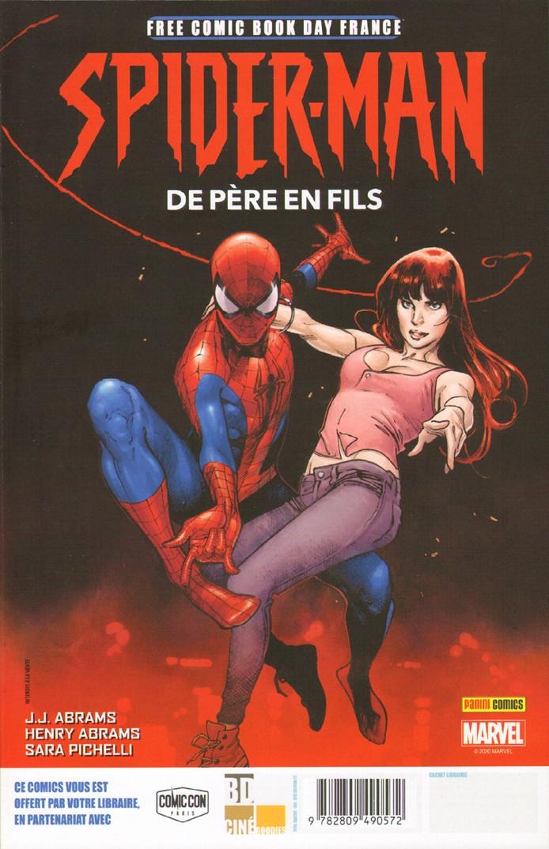 Couverture de Free Comic Book Day 2020 (France) - Spider-Man - De père en fils / Absolute Carnage