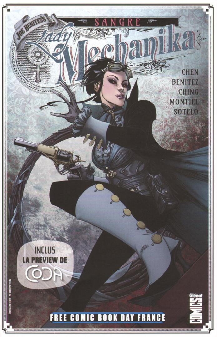 Couverture de Free Comic Book Day 2020 (France) - Lady Mechanika