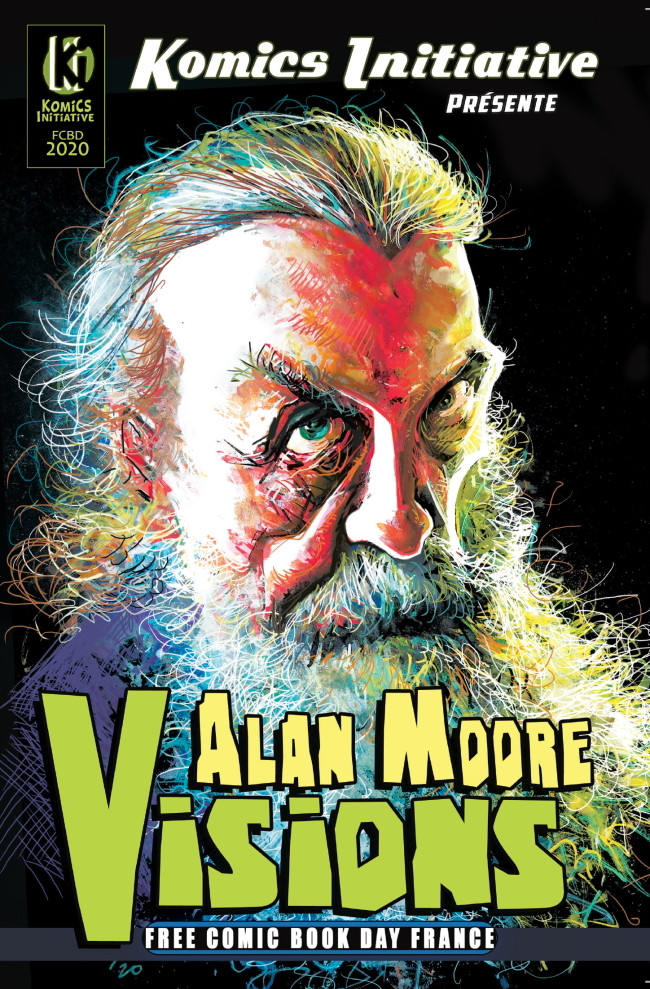 Couverture de Free Comic Book Day 2020 (France) - Visions - KIF (Komics Initiative Free) #2