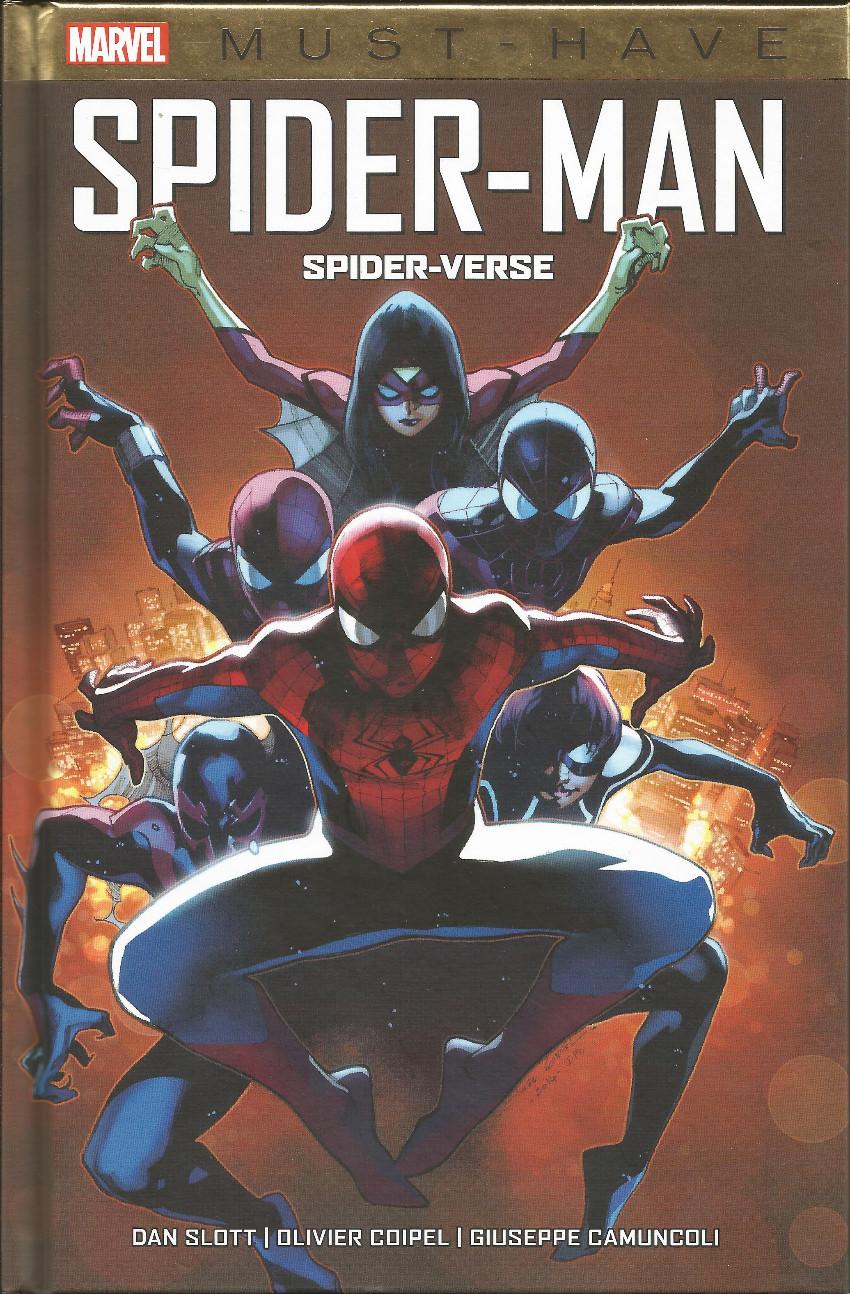 Couverture de Spider-Man : Spider-Verse -b2020- Spider-Verse
