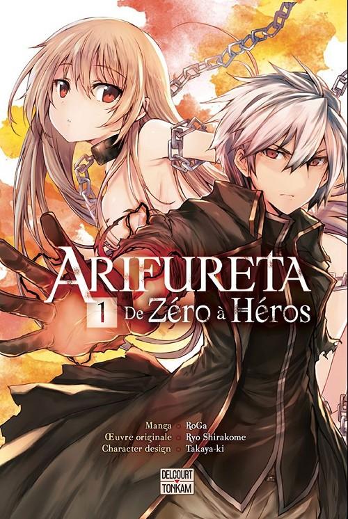 Couverture de Arifureta - de Zéro à Héros -1- Tome 1