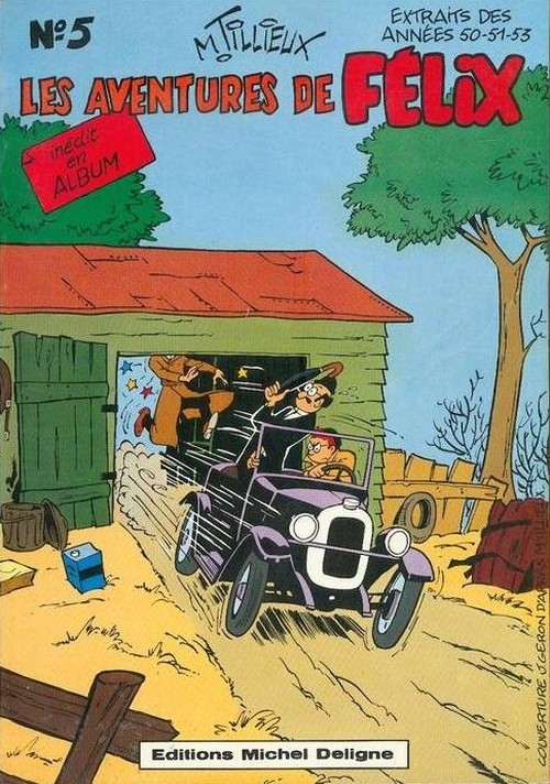 Couverture de Félix (Tillieux) (N&B) -5- Les aventures de Félix