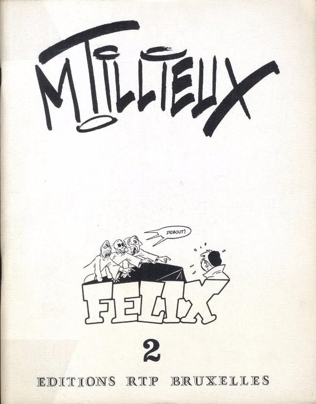 Couverture de Félix (Tillieux) (N&B) -HS2- Félix 2