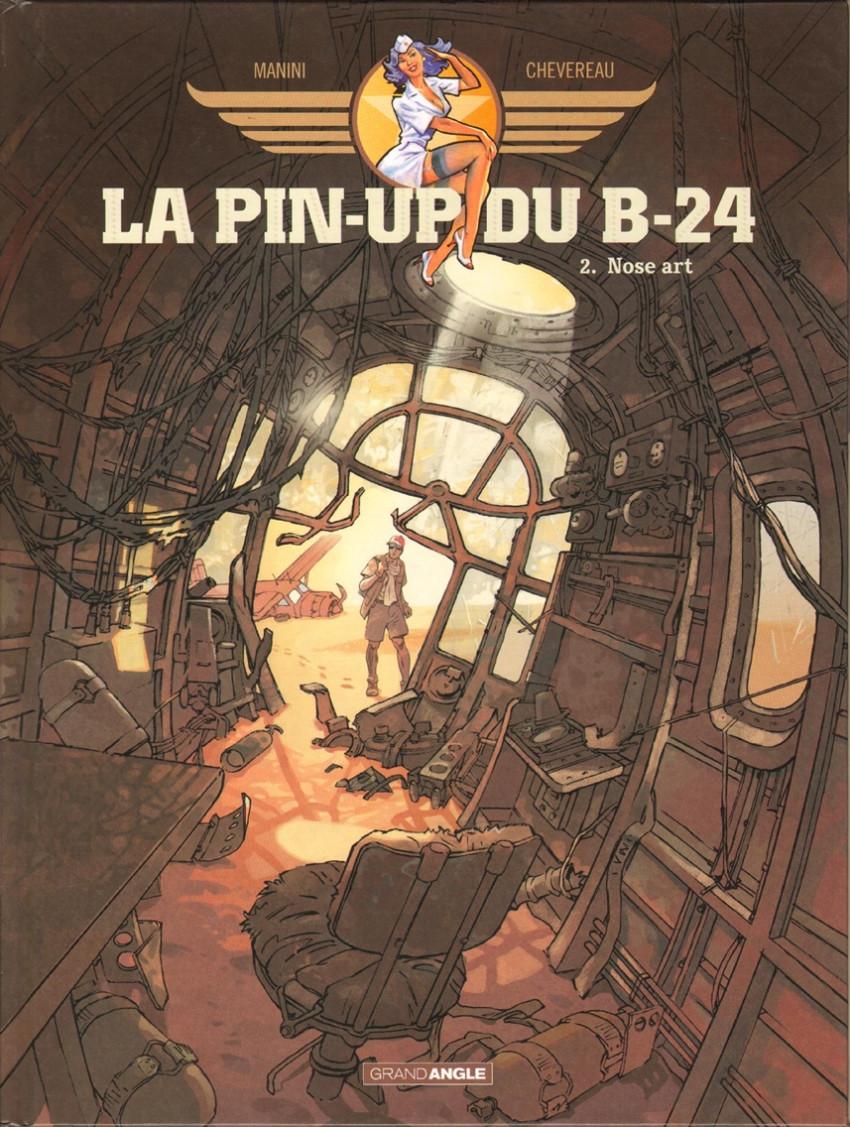 Couverture de La pin-up du B-24 -2- Nose art