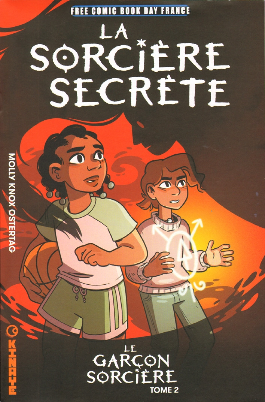 Couverture de Le garçon Sorcière -2FCBD- La Sorcière secrète - Free Comic Book Day 2020