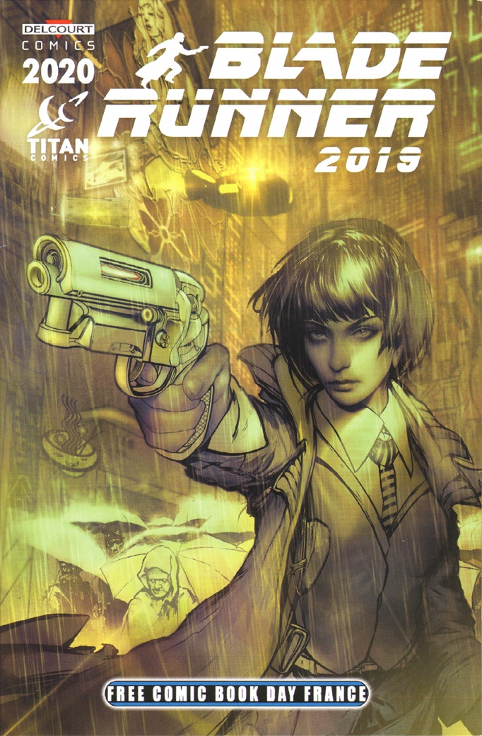 Couverture de Free Comic Book Day 2020 (France) - Blade Runner 2019