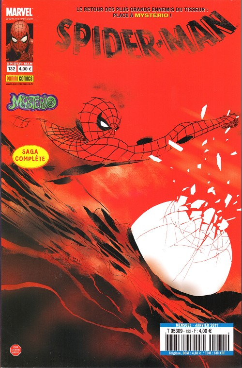 Couverture de Spider-Man (Marvel France 2e série - 2000) -132- Mysterioso