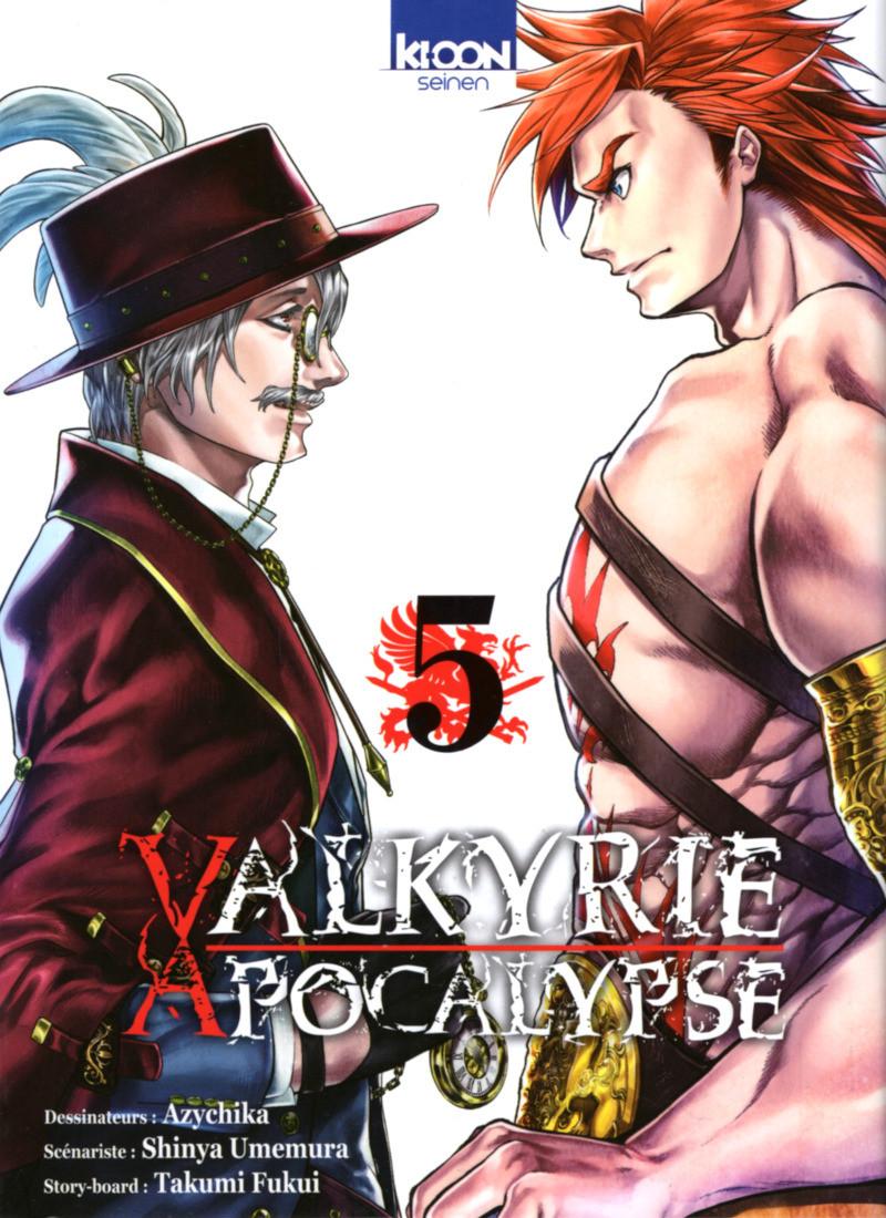 Couverture de Valkyrie Apocalypse -5- Tome 5