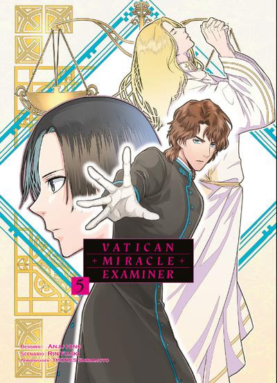 Couverture de Vatican Miracle Examiner -5- Tome 5