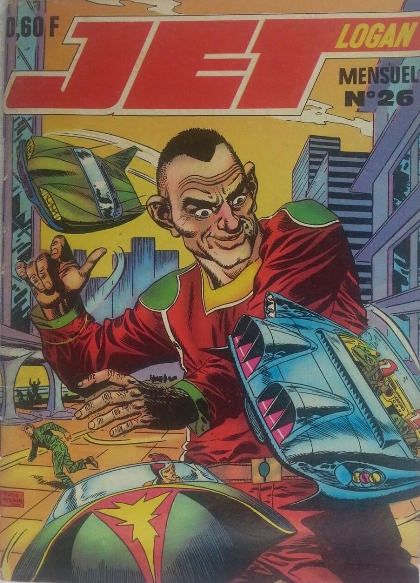 Couverture de Jet Logan (puis Jet) (Imperia) -26- Les géants de l'espace