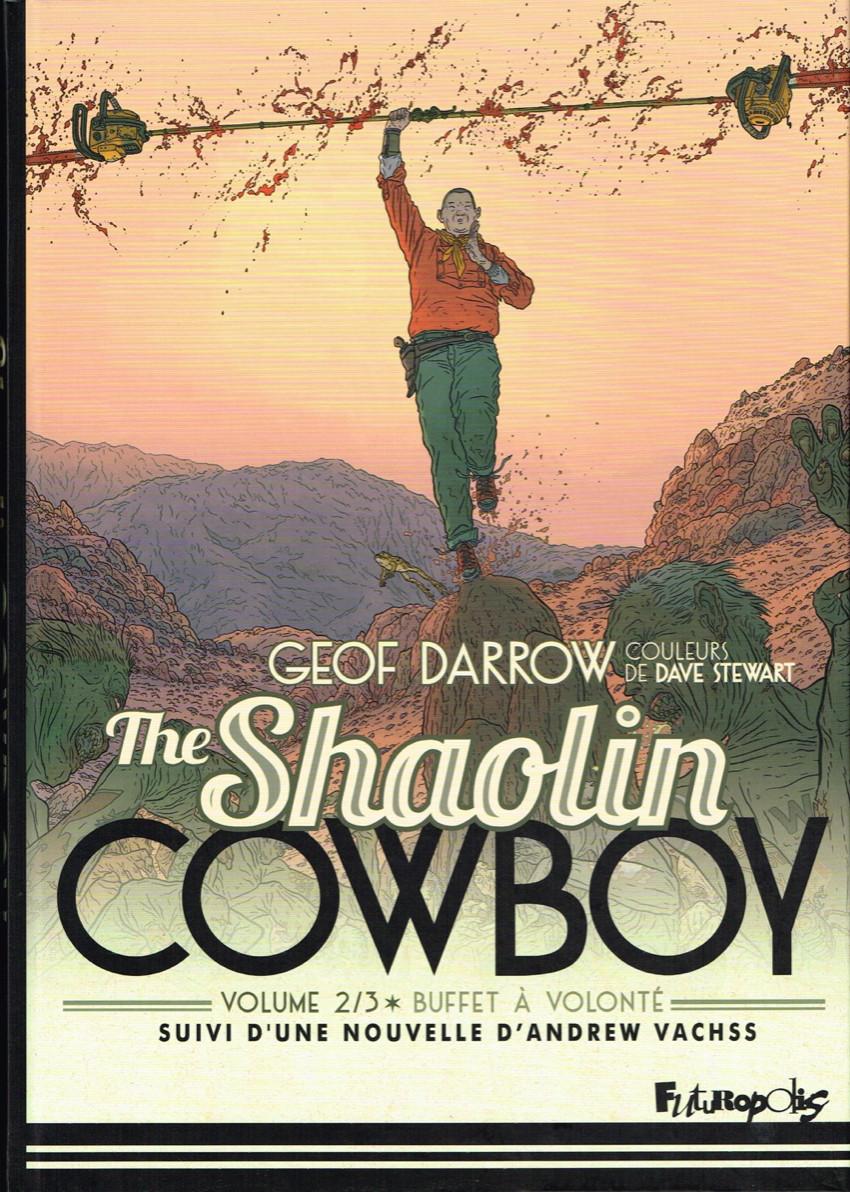 Couverture de Shaolin Cowboy (The) (Futuropolis) -INT2- Buffet à volonté