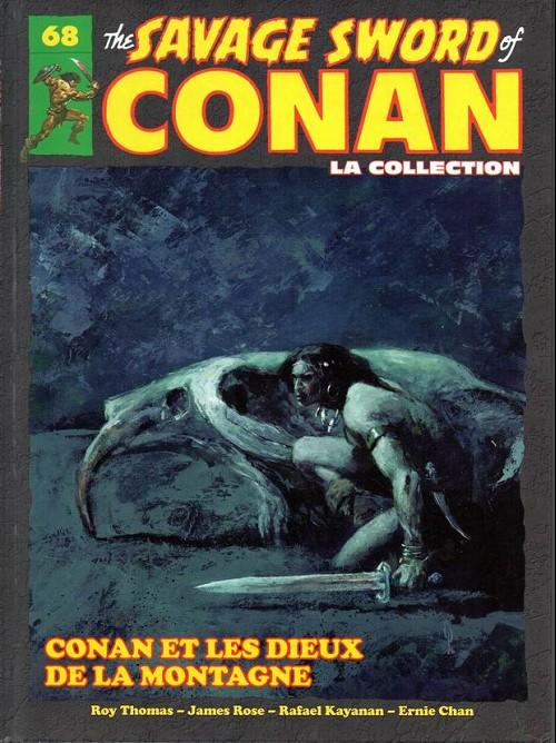 Couverture de Savage Sword of Conan (The) - La Collection (Hachette) -68- Conan et les dieux de la montagne