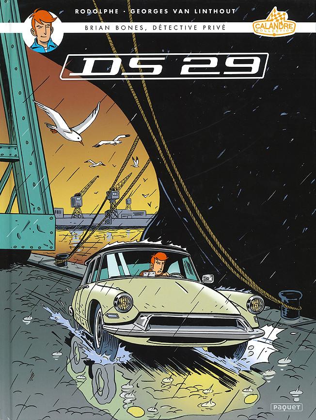 Couverture de Brian Bones, détective privé -4- DS 29