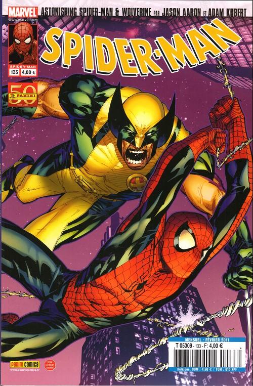 Couverture de Spider-Man (Marvel France 2e série - 2000) -133- C'est la vie