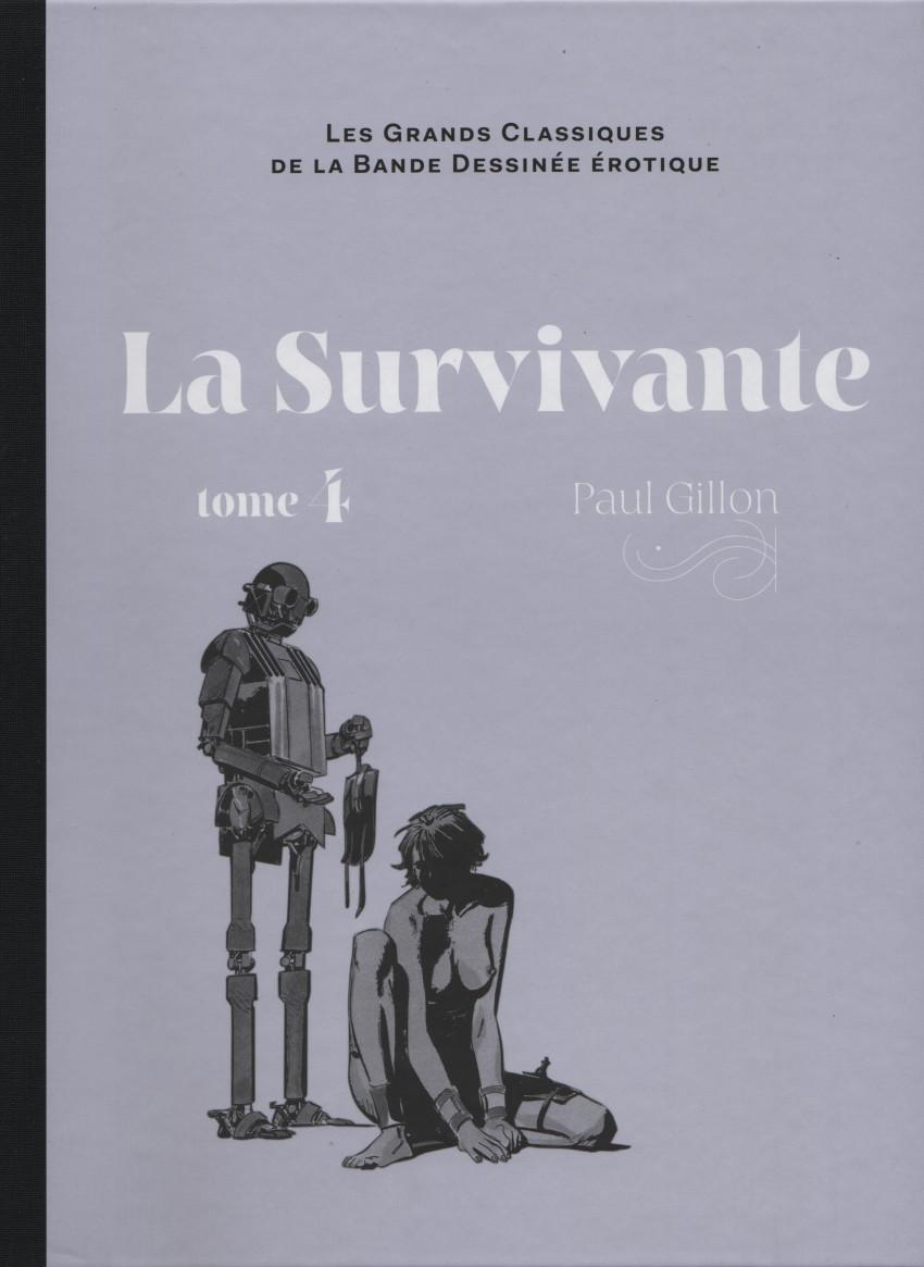 Couverture de Les grands Classiques de la Bande Dessinée érotique - La Collection -106107- La Survivante - Tome 4