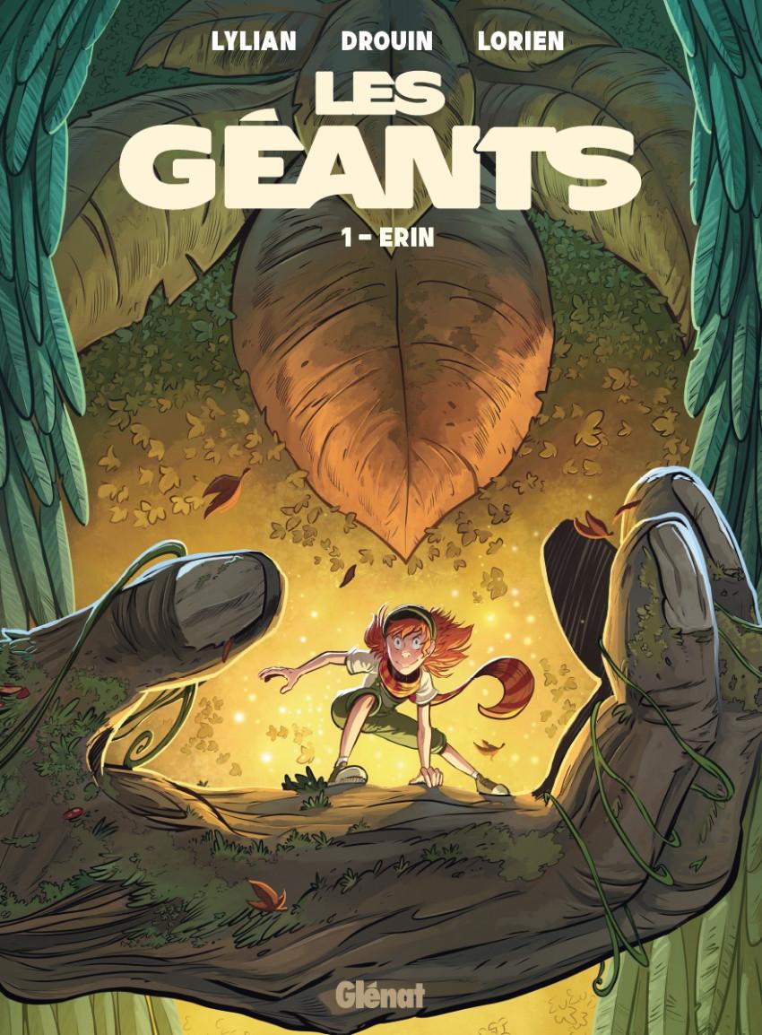 Couverture de Les géants (Lylian, Drouin) -1- Erin
