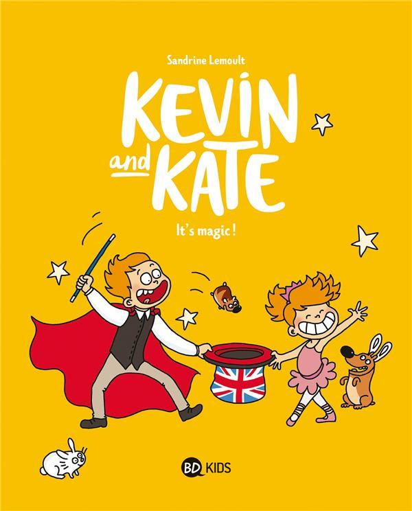Couverture de Kevin and Kate -4- It's magic !