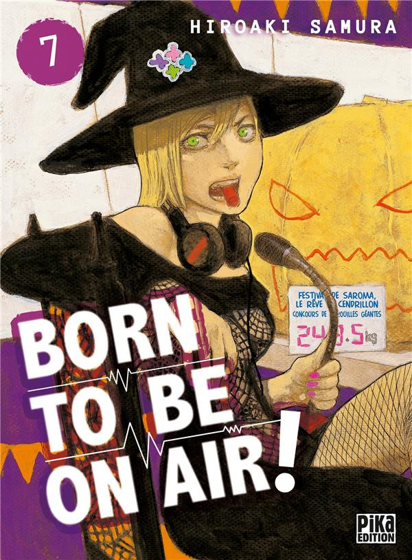 Couverture de Born to be on air ! -7- Tome 7