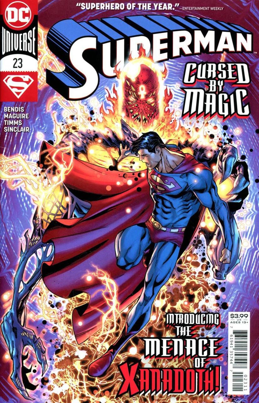 Couverture de Superman (2018) -23- Chaos - Part One