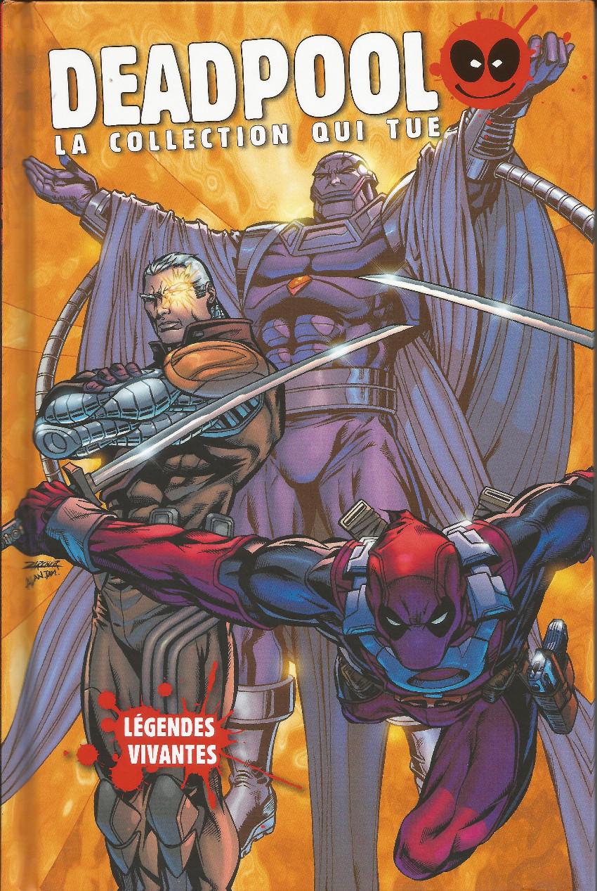 Couverture de Deadpool - La collection qui tue (Hachette) -3023- Légendes vivantes