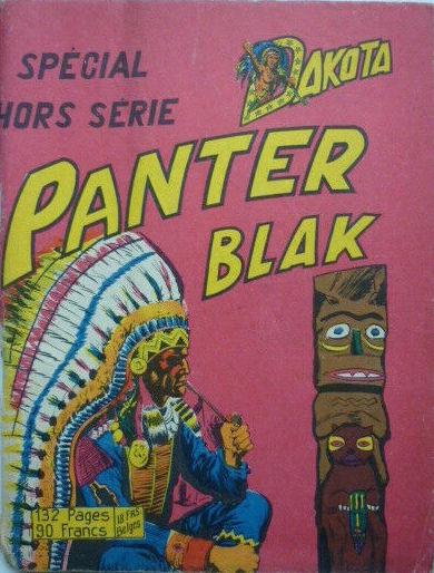 Couverture de Whipii ! (Panter Black, Whipee ! puis) -1- Panter Blak