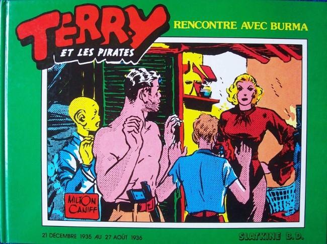 Couverture de Terry et les pirates (Slatkine) -2- Rencontre avec Burma (1935-1936)