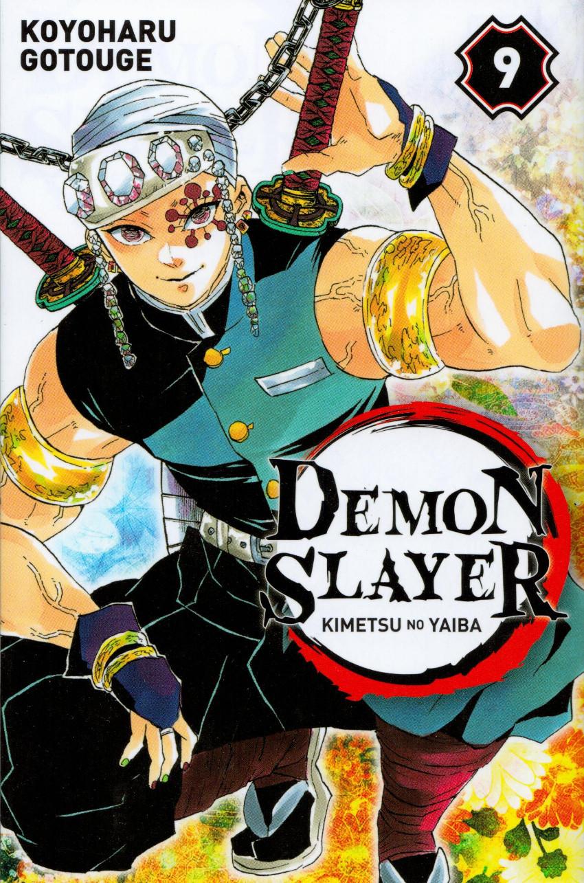 Couverture de Demon Slayer - Kimetsu no yaiba -9- Tome 9