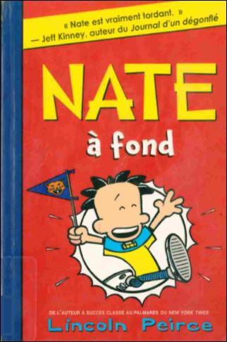 Couverture de Nate -4- Nate, à fond!