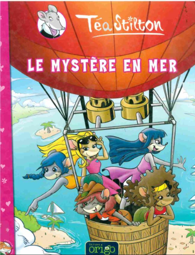 Couverture de Téa Stilton -6- Le mystère en mer