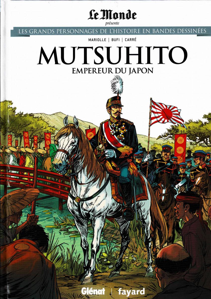 Couverture de Les grands Personnages de l'Histoire en bandes dessinées -39- Mutsuhito, empereur du Japon