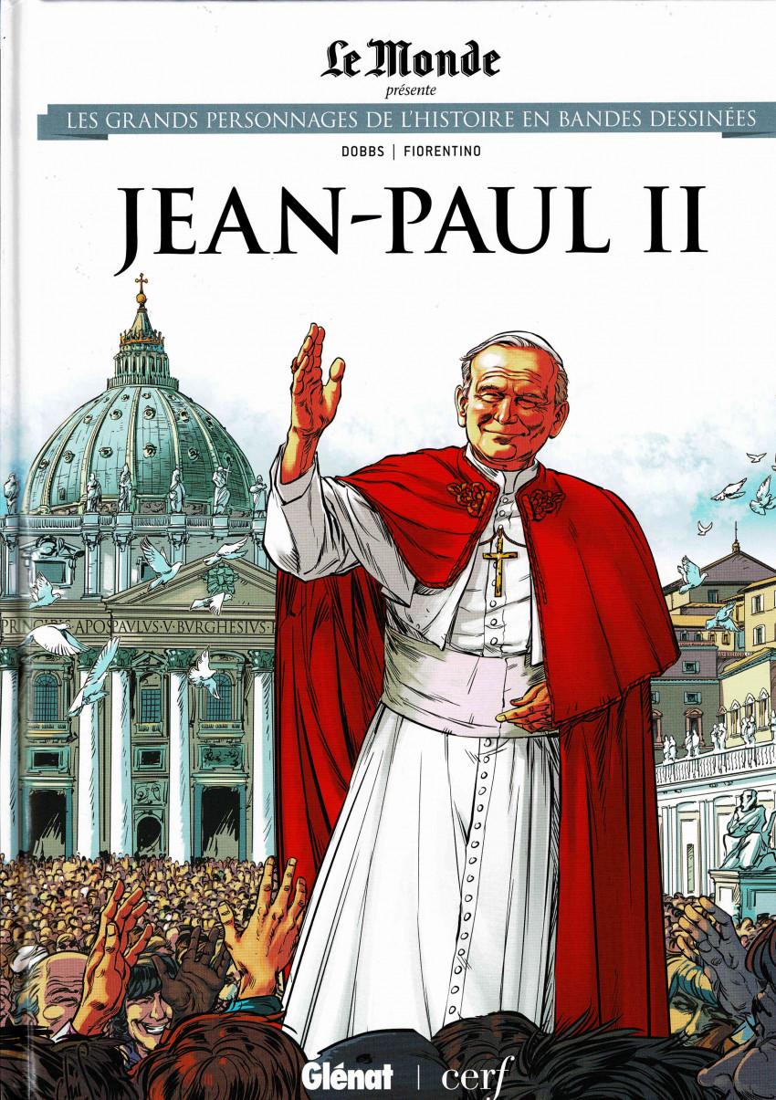 Couverture de Les grands Personnages de l'Histoire en bandes dessinées -38- Jean-Paul II