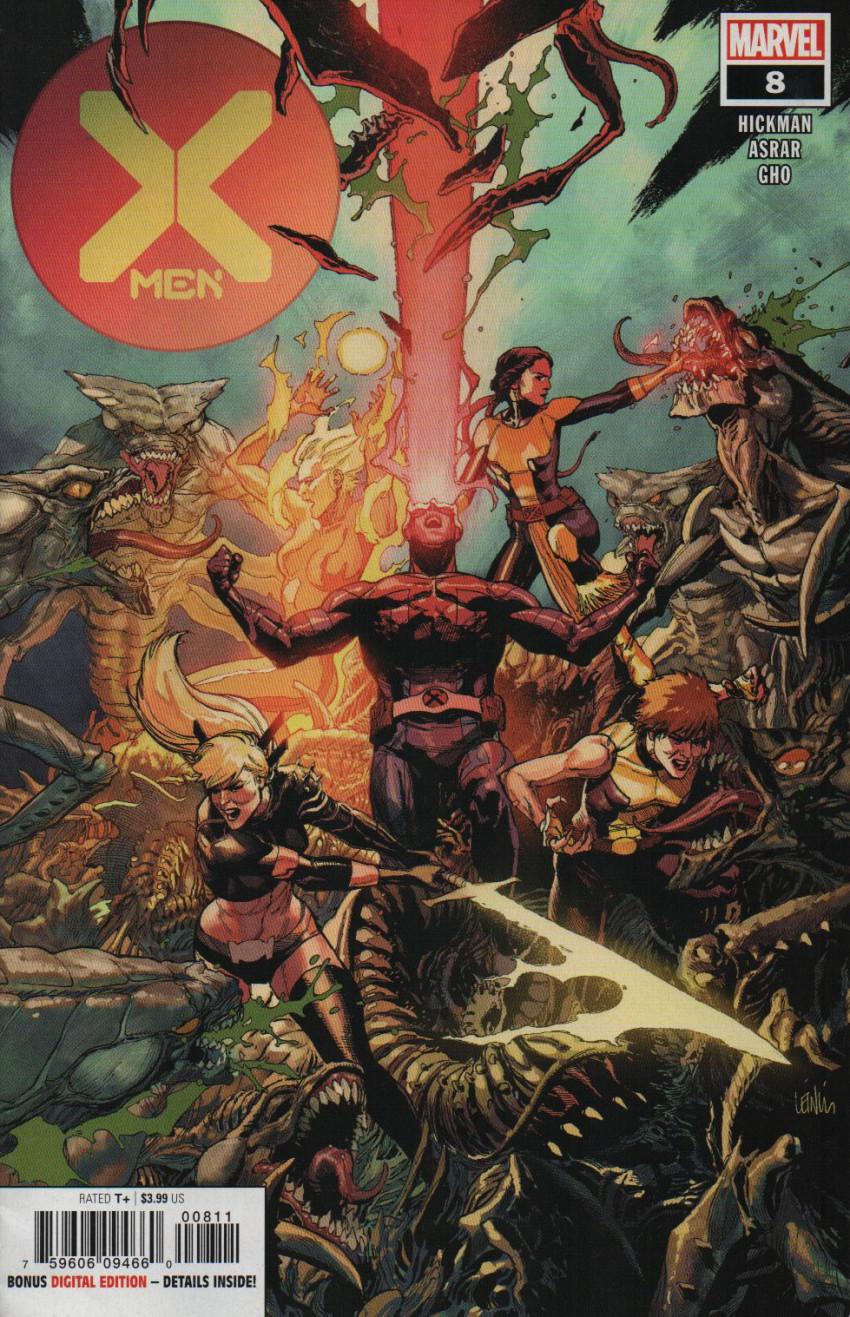 Couverture de X-Men Vol.5 (Marvel comics - 2019) -8- Swarm