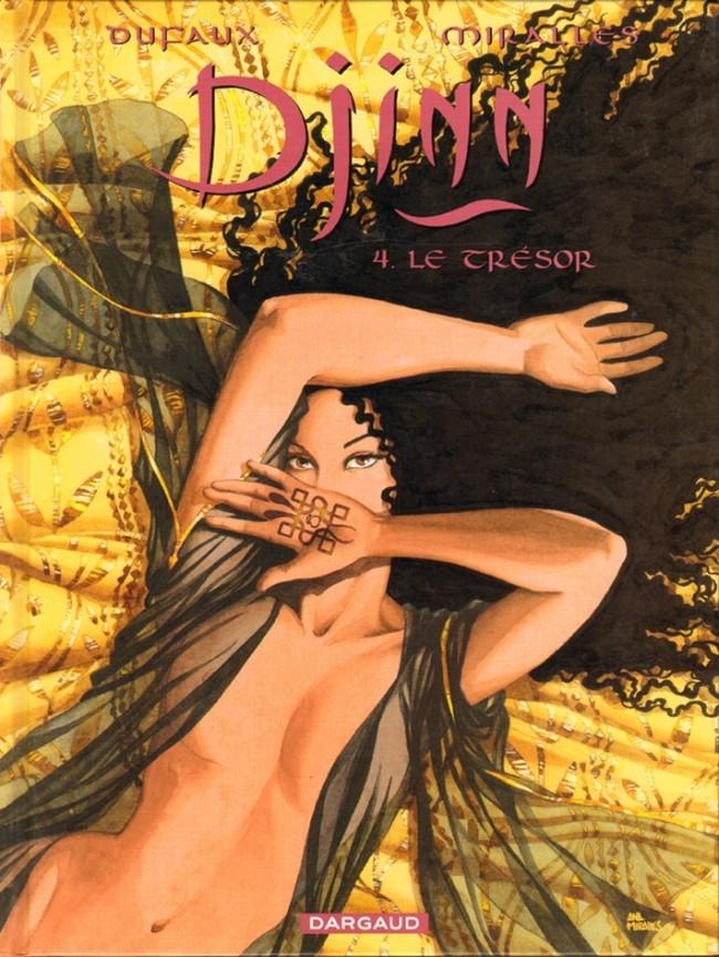 Couverture de Djinn (Dufaux/Mirallès) -4- Le Trésor