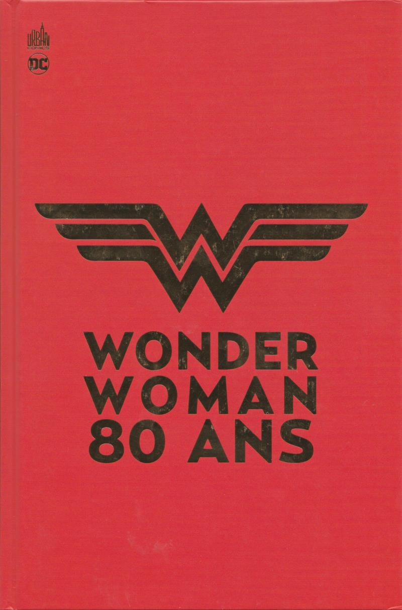 Couverture de Wonder Woman - 80 ans