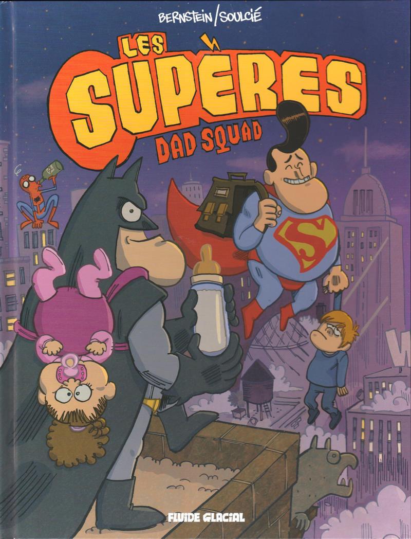 Couverture de Les supères -1- Dad squad