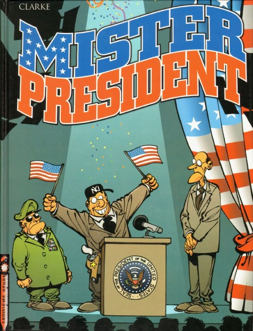 Couverture de Mister President - Tome 1