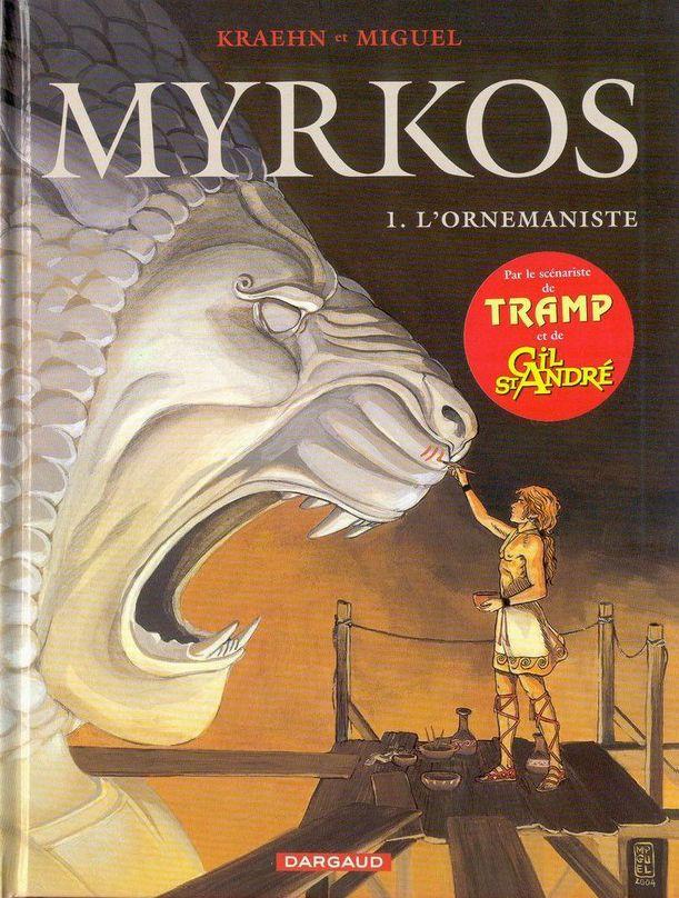 Couverture de Myrkos -1- L'Ornemaniste