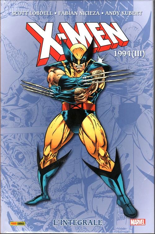 Couverture de X-Men (L'intégrale) -39- 1994 (iii)