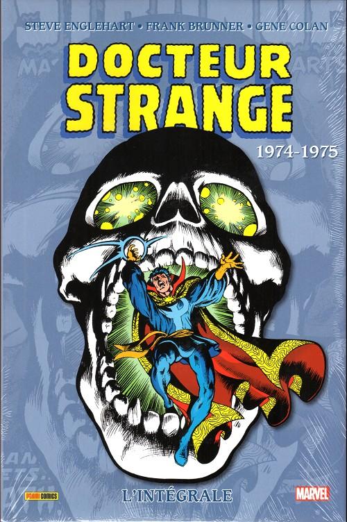 Couverture de Docteur Strange (L'intégrale) -5- 1974-1975