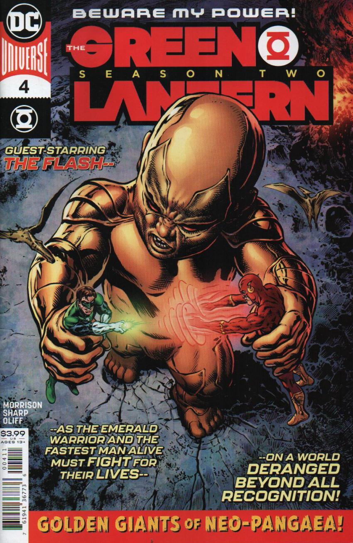 Couverture de Green Lantern - Season Two (The) (2019) -4- Golden Giants of Neo-pangaea