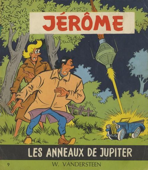 Couverture de Jérôme -9- Les anneaux de Jupiter
