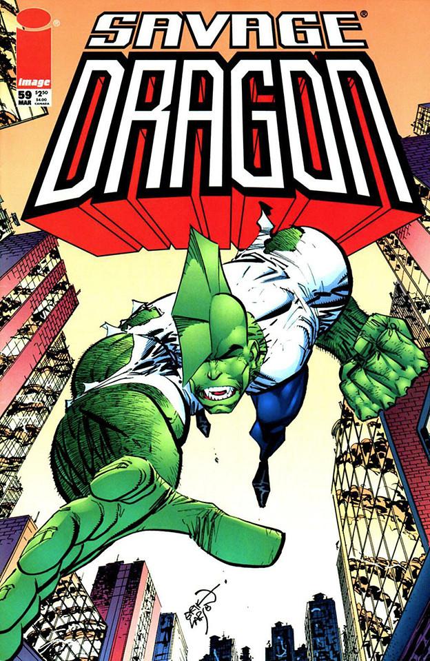 Couverture de Savage Dragon Vol.2 (The) (Image comics - 1993) -59- Issue #59