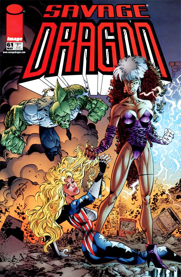 Couverture de Savage Dragon Vol.2 (The) (Image comics - 1993) -61- Issue #61