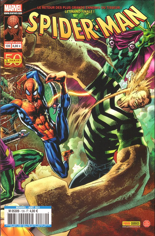 Couverture de Spider-Man (Marvel France 2e série - 2000) -139A- Chasse à mort