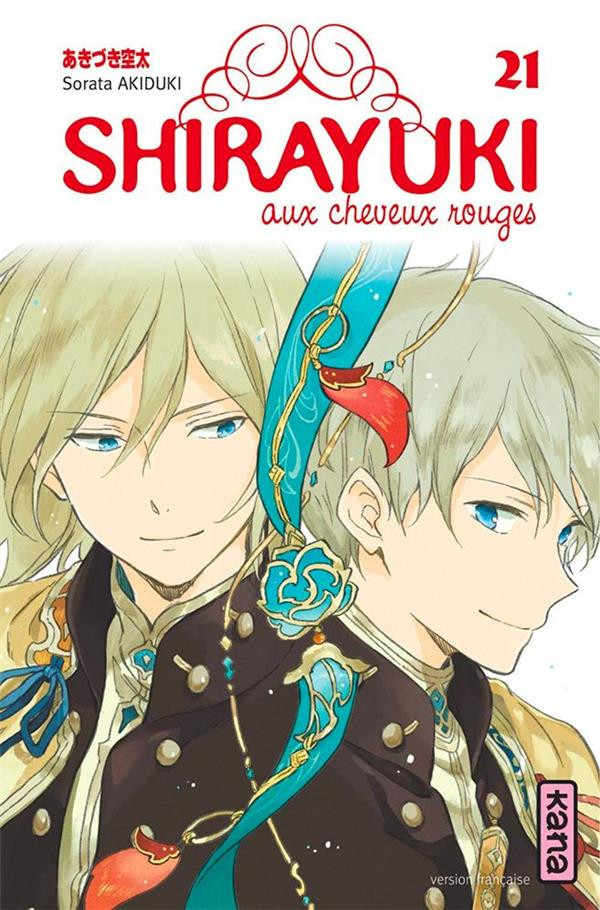 Couverture de Shirayuki aux cheveux rouges -21- Tome 21
