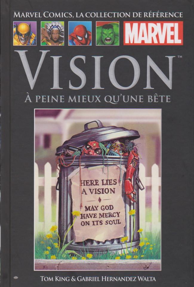 Couverture de Marvel Comics - La collection (Hachette) -159120- Vision : A peine mieux qu'une bête